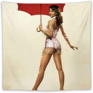 GLBlife Pin Up Girls Tapestries Tapestry Wall Hanging Multiple Colorful Hippie Tapestries Art Window Treatments Valance Bedroom Decor Living Room Door Curtain Balcony Sheer Room Divider 60