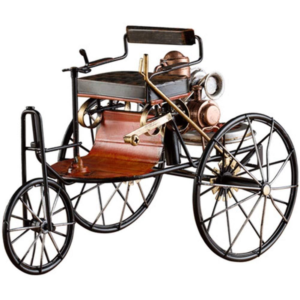 sal/ón Estudio HR Decoraci/ón Retro Antigua 1886 generaci/ón Hierro Forjado Modelo Mercedes-Benz Coche decoraci/ón Suave hogar