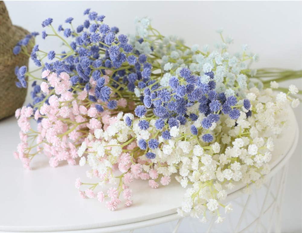 Blanco centros de Mesa Flores de Gypsophila de pl/ástico Lindas realistas de 23.6 Pulgadas para el hogar.Boda.Fiesta.Decoraci/ón de jard/ín Tifuly Gypsophilas Artificiales de 12 Piezas