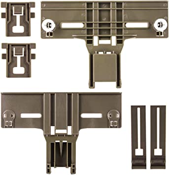 W10195840 2 2 2 8 Packs Dishwasher parts upper rack W10350376 W10195839 W10250160 2 for kitchenaid Kenmore elite kitchen Aid whirlpool kenmore Dishwasher Replaces W10712394 AP5272176 PS3497383