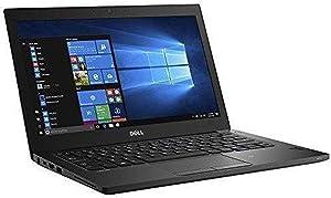 Dell Latitude 7280 Laptop 12.5 Intel Core i7 7th Gen i7-7600U Core 256GB SSD 8GB 1920x1080 FHD Windows 10 Pro (Renewed)