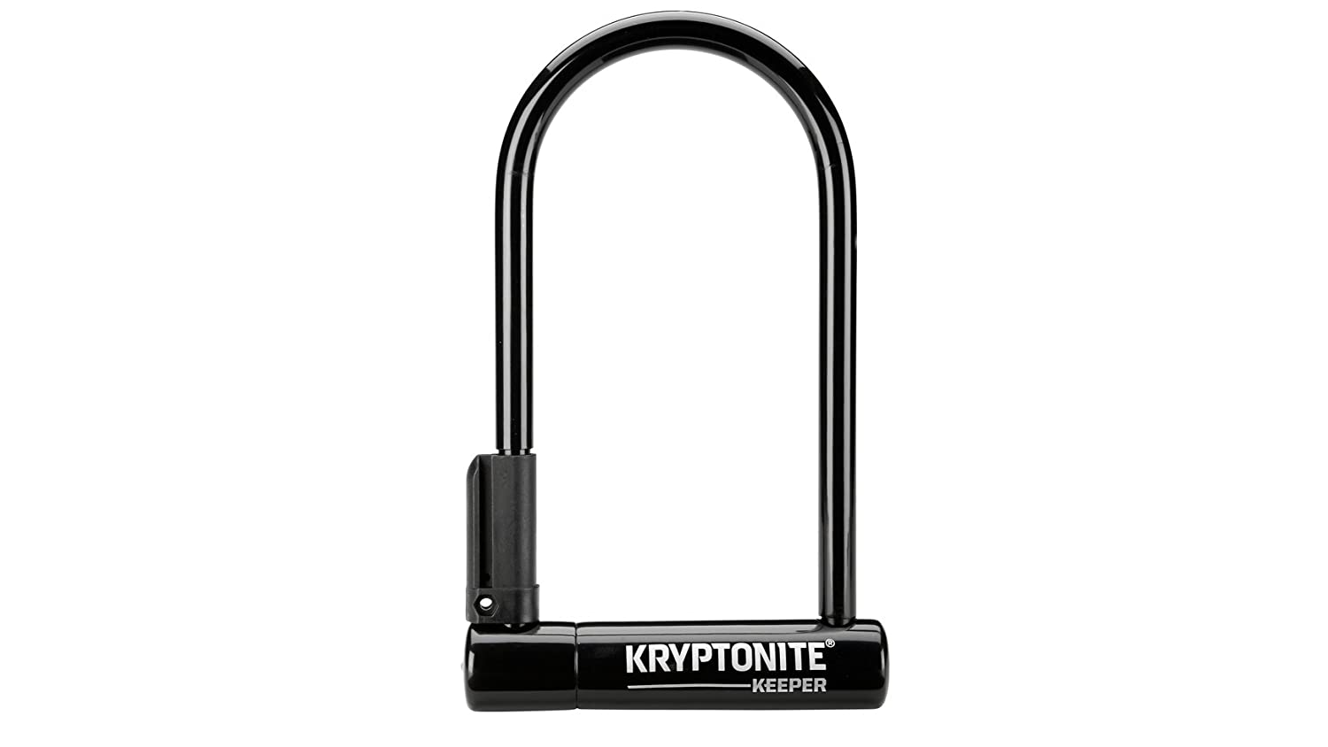 Kryptonite U-Locks, Keeper 12 Std con Staffa Unisex, Nero, Standard 004196