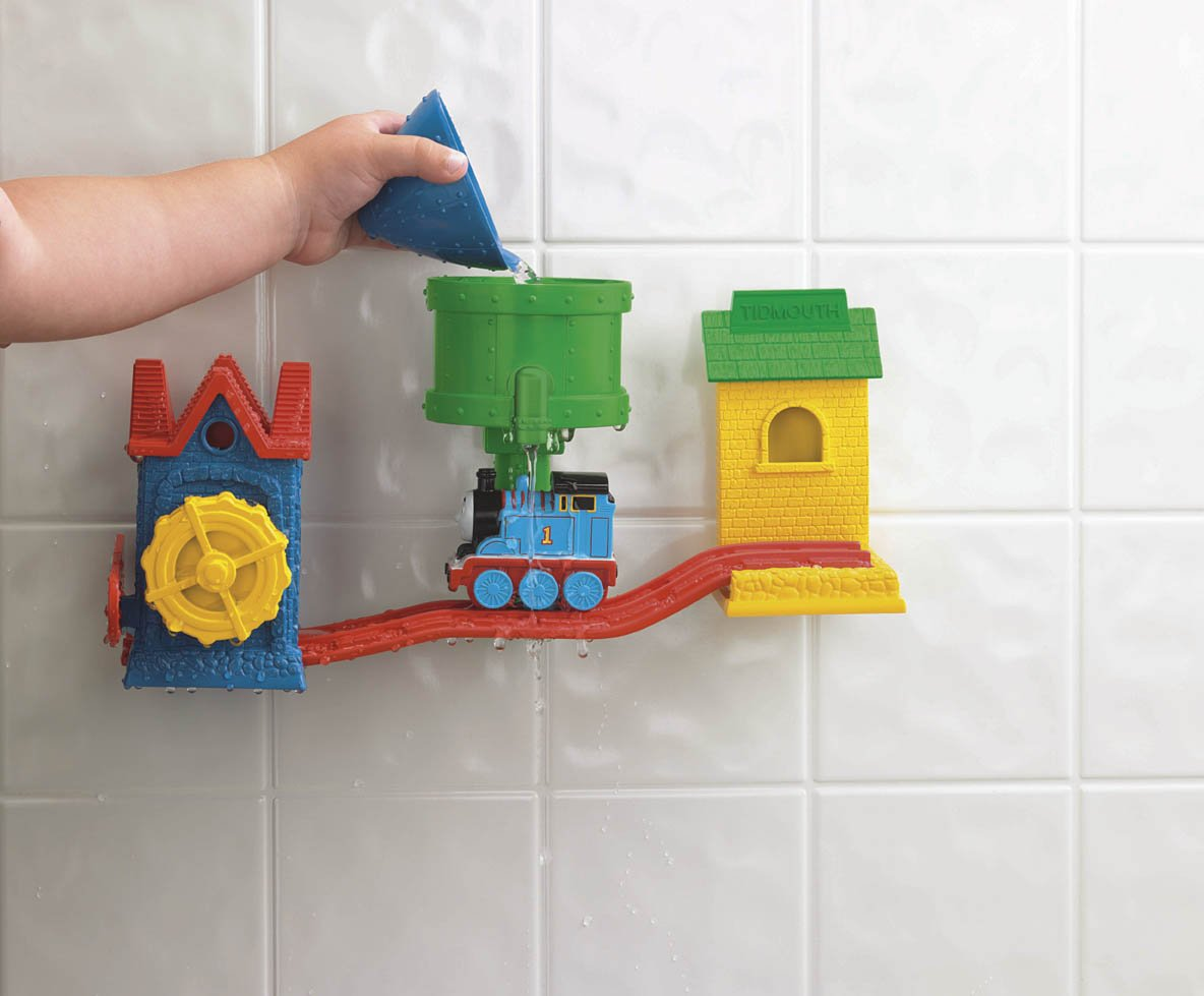 Amazon.com: Thomas & Friends Fisher-Price Thomas Bath Tracks: Toys ...