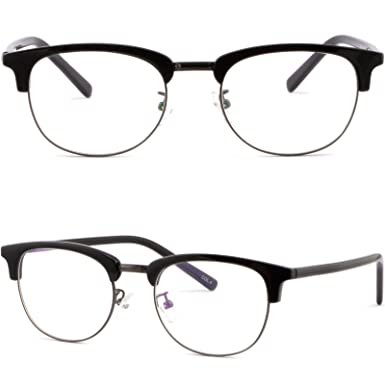 295ceb191eb Image Unavailable. Image not available for. Color  Full Rim Womens Mens Browline  Frame Prescription Glasses Sunglasses Black