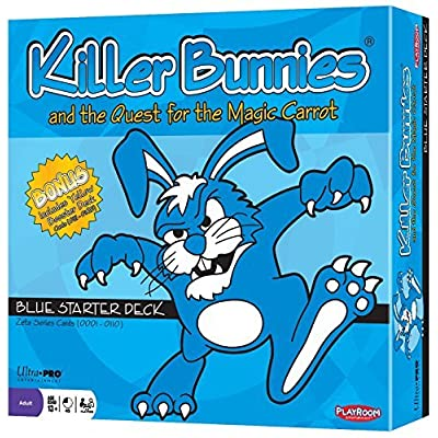 Killer Bunnies and the Quest for the Magic Carrot; Blue Starter Deck: Toys & Games