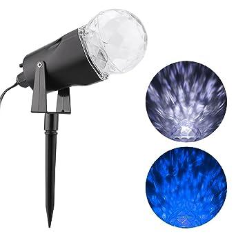Lightess Proyector Luz de Llama Lámpara Proyección Mágico ...