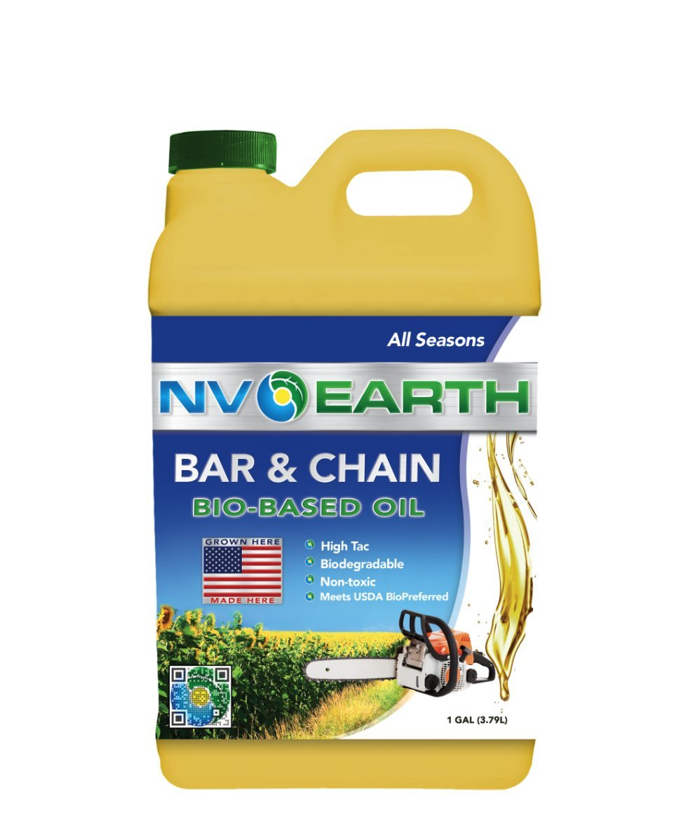 NV Earth Biodegradable Bar & Chain Oil - Gallon