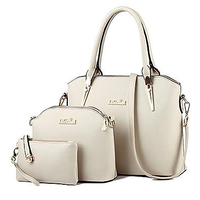 Amazon.com: Bolsas de mano para mujer, clásicas, 3 piezas ...