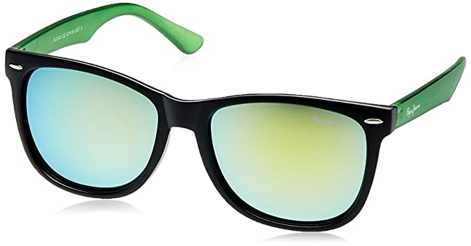 179c097360 Image Unavailable. Image not available for. Colour  Pepe Jeans UV Protected  Wayfarer Unisex Sunglasses ...