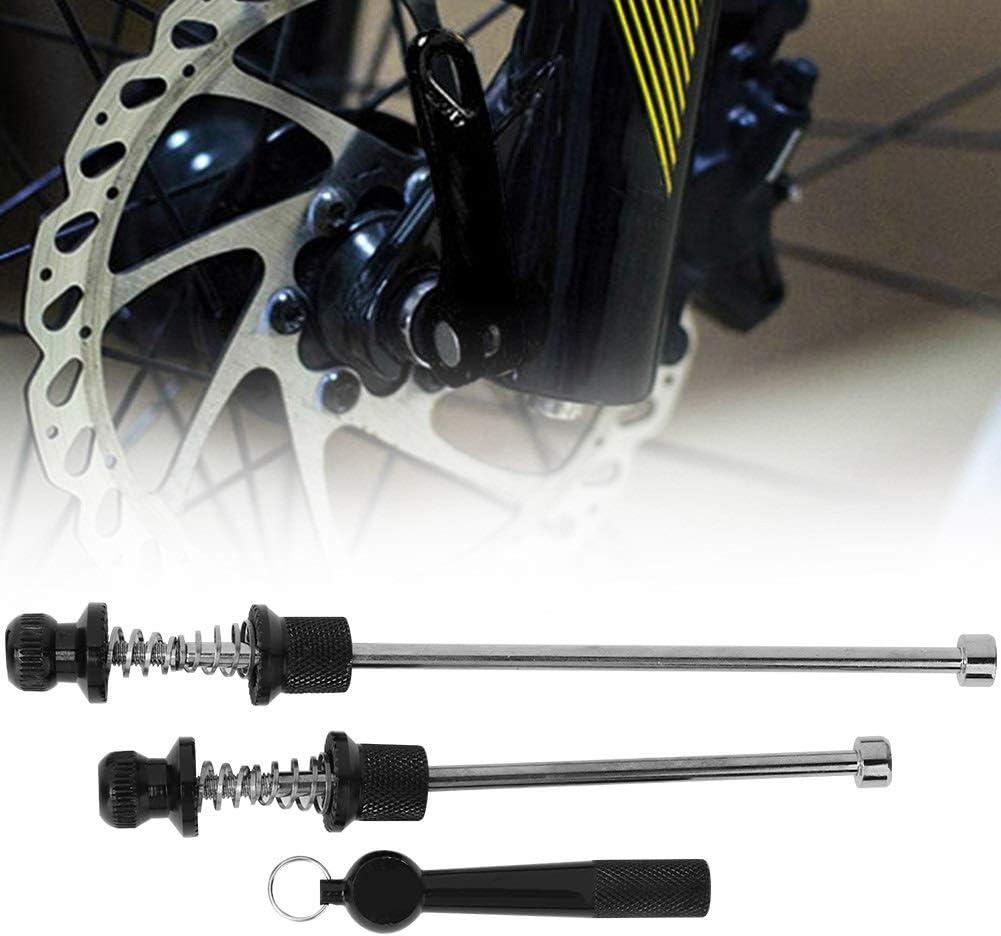 Nancunhuo Quick Release Skewer-Mountain Bicycle Road Bike Wheel Bloqueo de Seguridad Quick Release Anti Theft Skewer Set