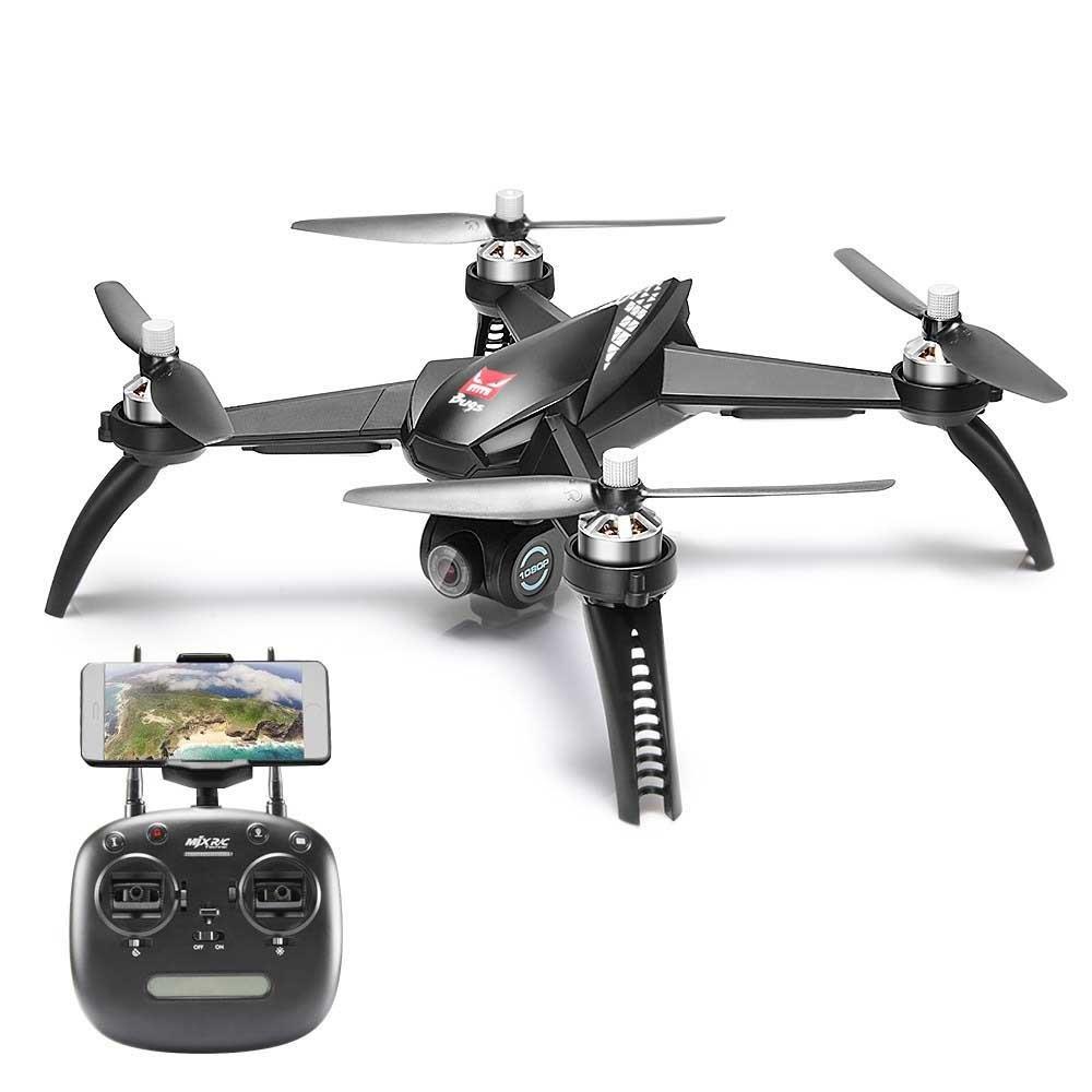 LanLan Drone MJX Bugs 5W B5W GPS RC Drone con WiFi FPV 1080P C/ámara HD Auto Return S/ígueme en Modo RC Quadcopter