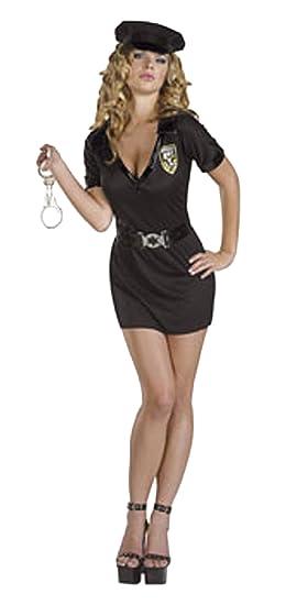 CoolParty - Disfraz de policía para mujer, talla 38-40 (Q674-002 ...