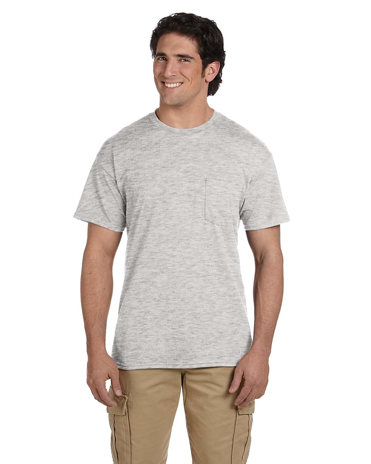 Gildan G830 5.6 oz Ultra Blend 50//50 Pocket T-Shirt