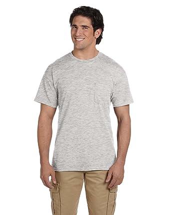 0bc1a71fca65 Image Unavailable. Image not available for. Color: Gildan Mens DryBlend 5.6  oz 50/50 Pocket T-Shirt ...