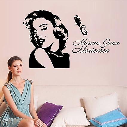 Marilyn Monroe Wall Art Vinyl Transfer Decal Sticker Mural Decor