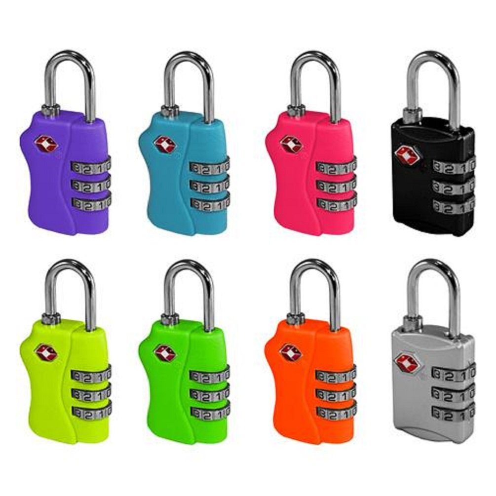 Honest 2xtsa Approve Luggage Travel Suitcase Bag Lock 3 Digit Combination Padlock Reset Factory Direct Selling Price Locks