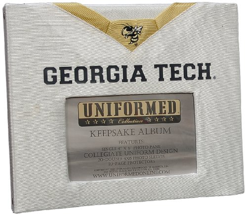 UNIFORMED Georgia Tech Keepsake/Photo Album