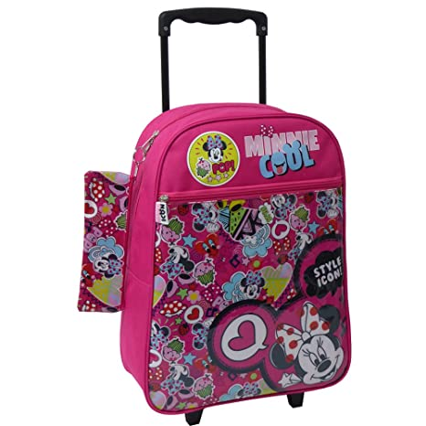 Disney Minnie Icon Mochila Escolar con Ruedas Toy Bags 025