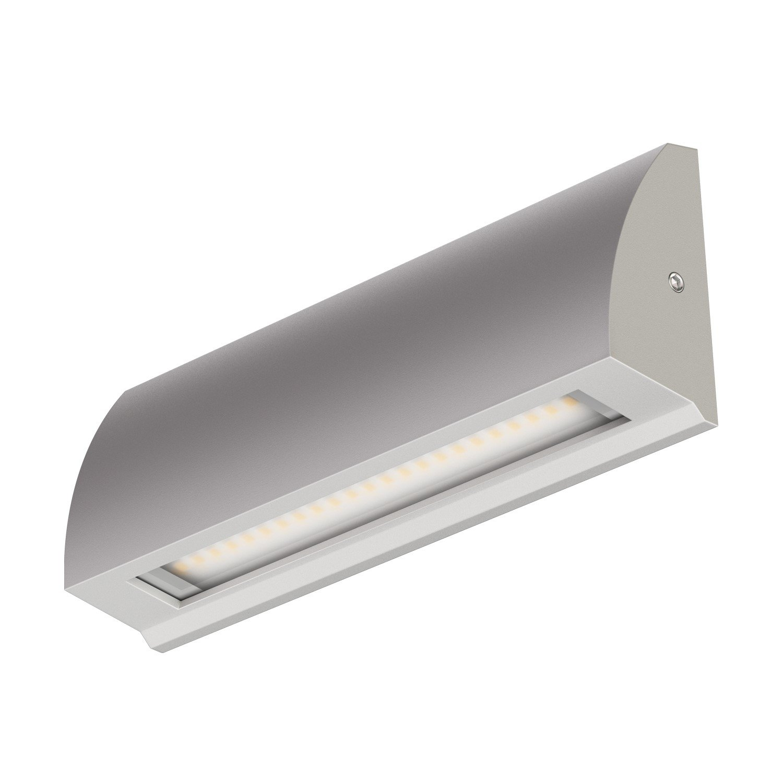 ledscom.de LED Wand-Leuchte Segin Treppenlicht für innen und außen, flach, aufbau, warm-weiß, 400lm warm-weiß LEDs Com GmbH LC-L-128-WW