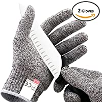 Platinum Oyster Glove No Cut Resistant High Performance Level 5 Protection, Food Grade All Sizes Perfect Gift for that Chef, Culinary cnc router, mandoline slicer, fillet knife sharpener
