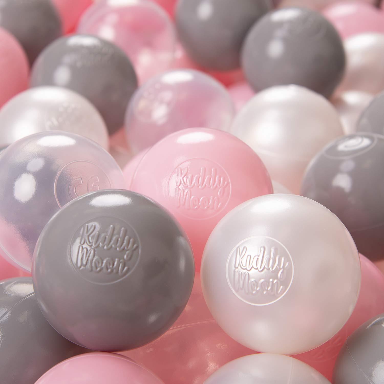 Mint KiddyMoon 100 /∅ 6Cm Kinder B/älle F/ür B/ällebad Spielb/älle Baby Plastikb/älle Made In EU
