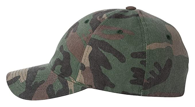 f90333e9e8726 Image Unavailable. Image not available for. Color  Flexfit Yupoong Cotton Camouflage  Garment Washed ...