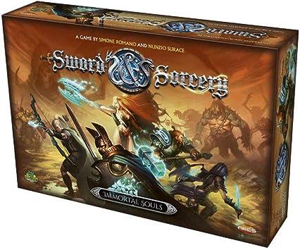Ares Games Juego de Mesa Sword and Sorcery: Almas inmortales, de la Marca (AREGRPR101): Amazon.es: Juguetes y juegos