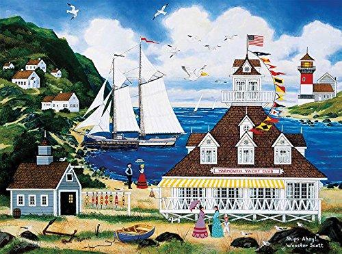 Ceaco Jane Wooster Scott - Ships Ahoy Puzzle