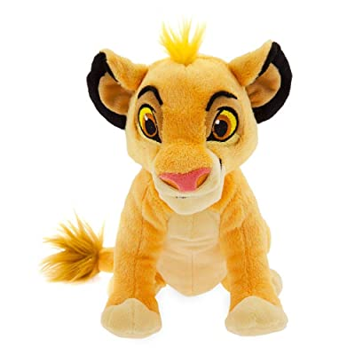 Disney Simba Plush – The Lion King – Mini Bean Bag – 7'': Toys & Games