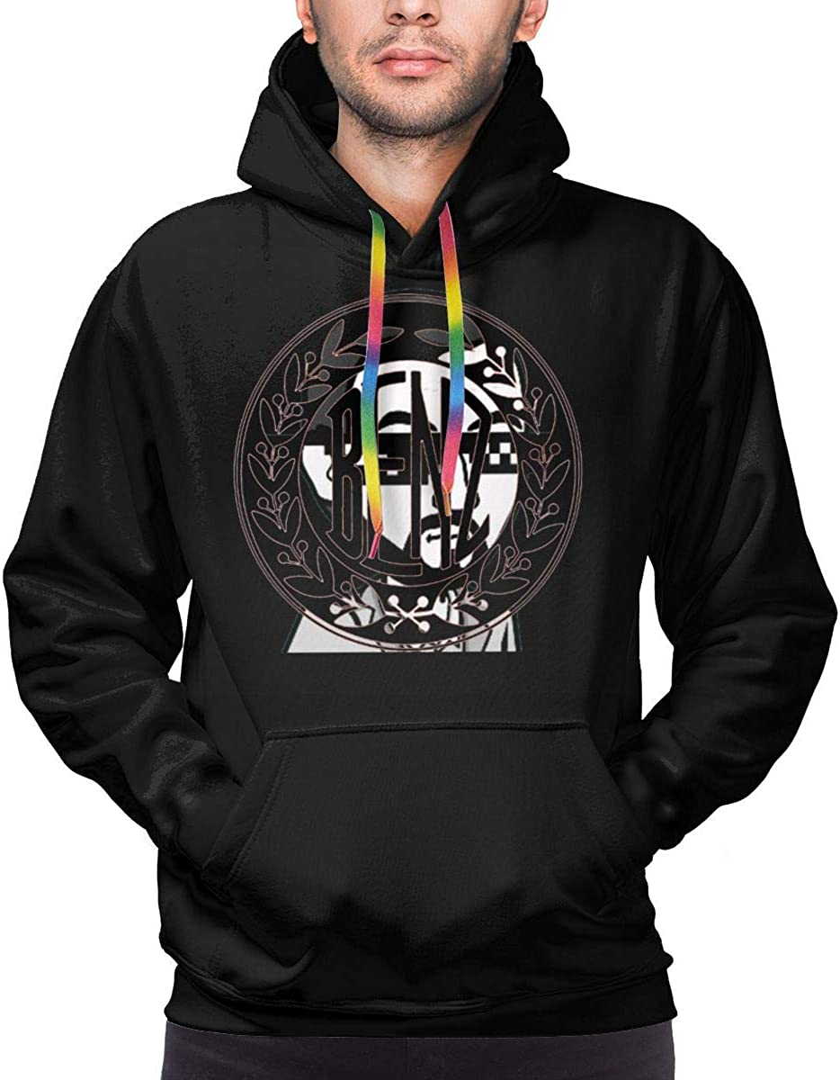 Dydelao Mens Hooded Sweater Casual Outdoor Fashion Style