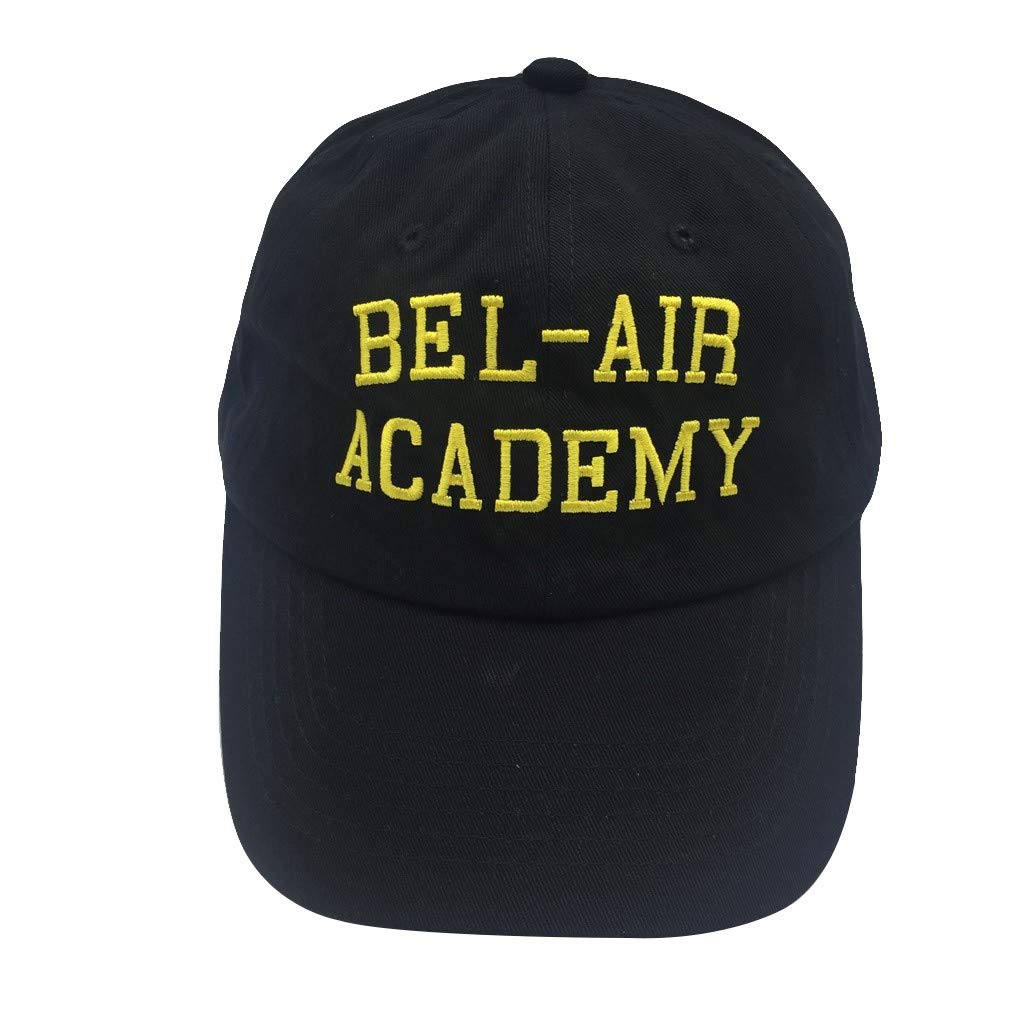 3c478205 binbin lin Bel Air Academy Hat Baseball Cap Embroidered Cap Baseball Hat  Dad Hat Dad Caps Adjustable Trucker Cap Black