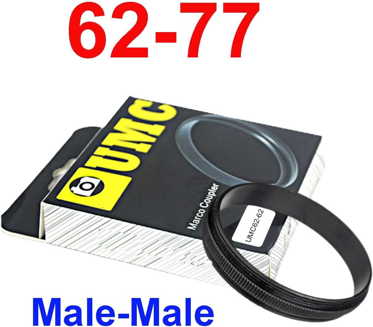 reversing Male 62mm-77mm 62-77 mm Macro Reverse Ring