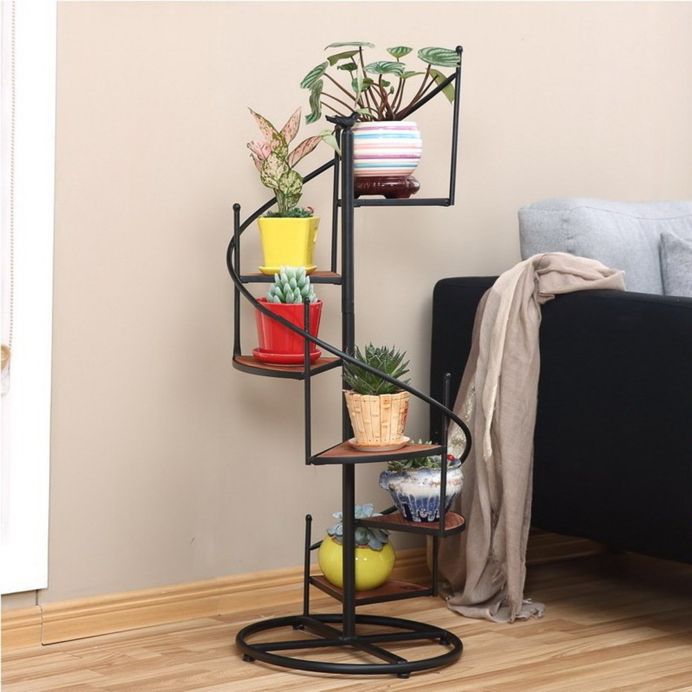 Modern Fashion Flower Rack Multi-storey Flower Rack Indoor And Outdoor Flower Pot Rack-B by Flower racks