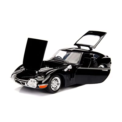 Jada 1967 Toyota 2000GT Coupe Black \JDM Tuners\ 1/24 Diecast Model Car: Toys & Games