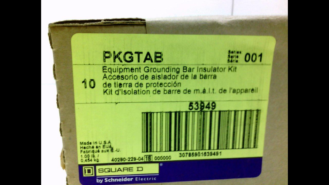 SQUARE D PKGTAB GROUNDING BAR INSULATOR KIT PKGTAB