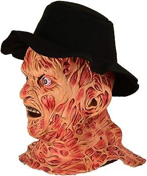 yacn Máscara de Halloween Freddy Krueger, una Pesadilla en la ...