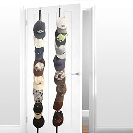 Over The Door Hat Rack New Amazon Cap Rack60 Pack For 60 Caps Adjustable Wall Caprack Hang