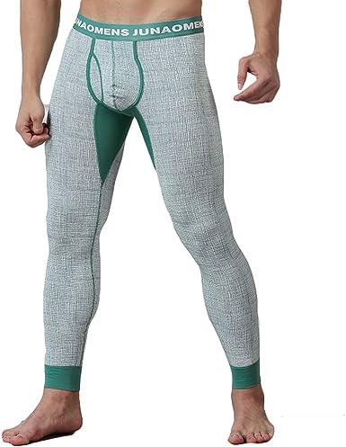 Hombre Térmico Ropa Interior Invierno Cálido Pantalones Suave ...
