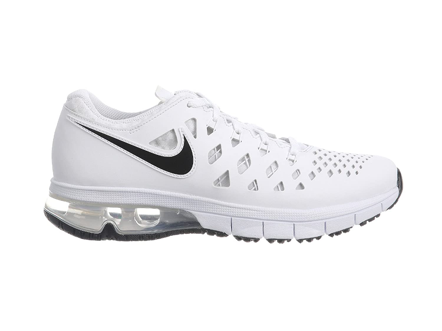 NIKE Mens Air Trainer 180 Synthetic Cross-Trainers Shoes B071G2Q3PP 10 D(M) US|White/Black-black