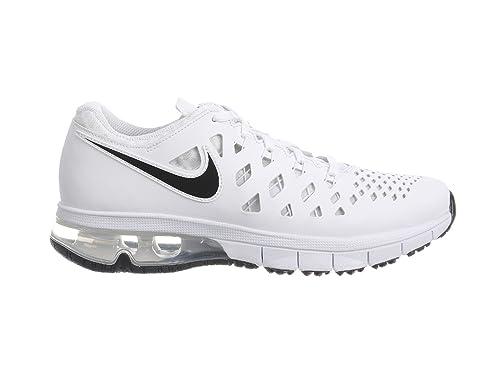 2ada6912b7616c Nike Mens Air Trainer 180 White Black Synthetic Cross-Trainers Shoes 8.5 D  US  Amazon.ca  Shoes   Handbags