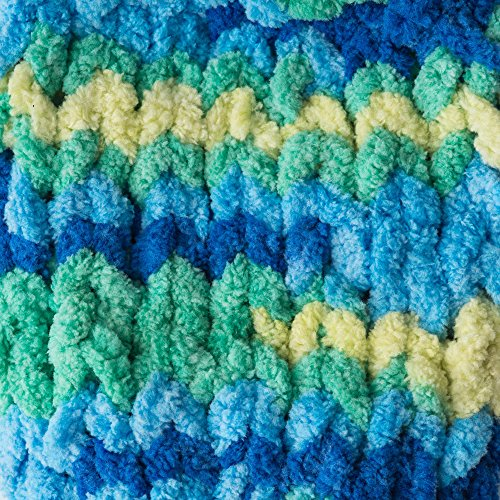 Bernat Blanket Bright Yarn, Surf Varg