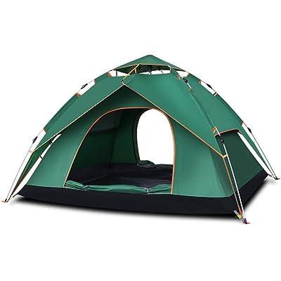 Tente automatique / extérieure 2-3-4 personnes / deux chambres et une salle épaississement tente de camping camping imperméable