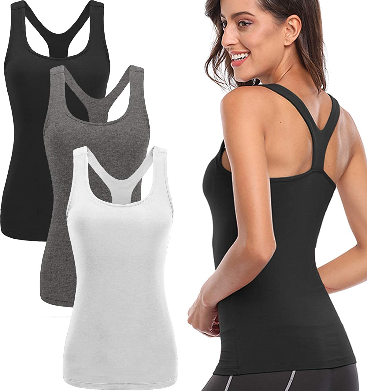 85faace67e9ea8 Amazon.com  TELALEO Tank Tops for Women