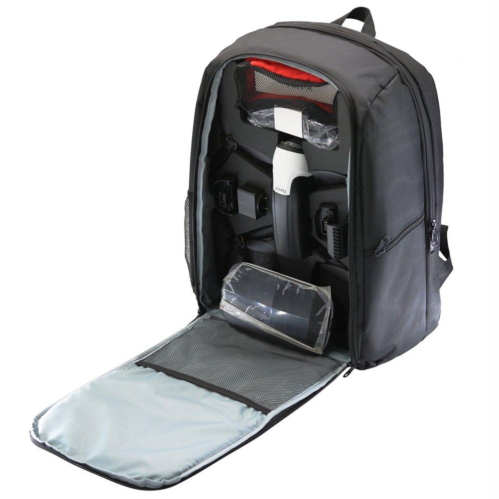 Rantow Predective Carry Backpack for Parred Bebop 2 FPV   Bebop 2 Power FPV   Bebop 2 Adventurer Quadcopter Waterproof Transport Storage Bag Case Black