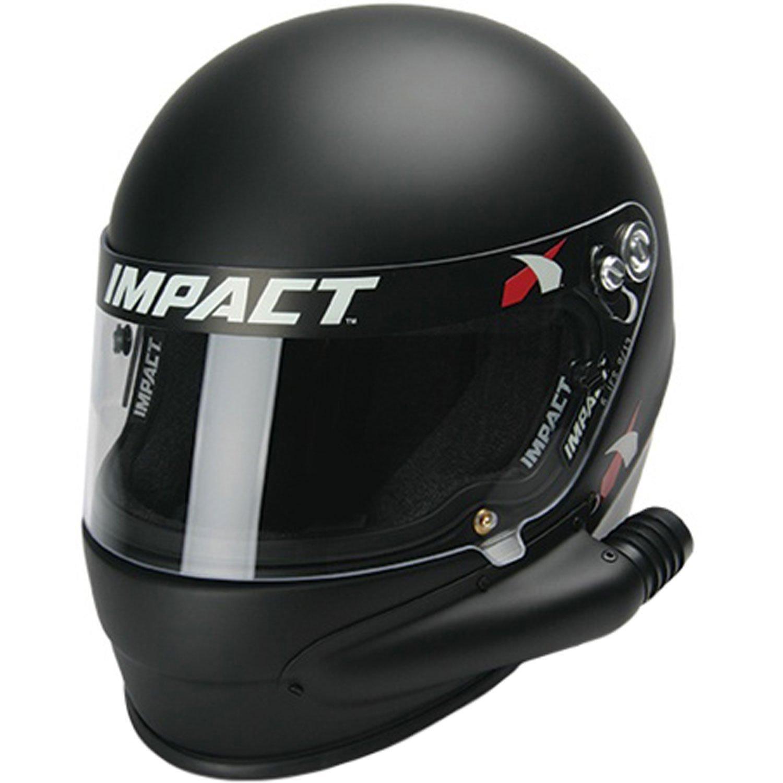 1320 Side Air SNELL15 MED Flat Black Helmet
