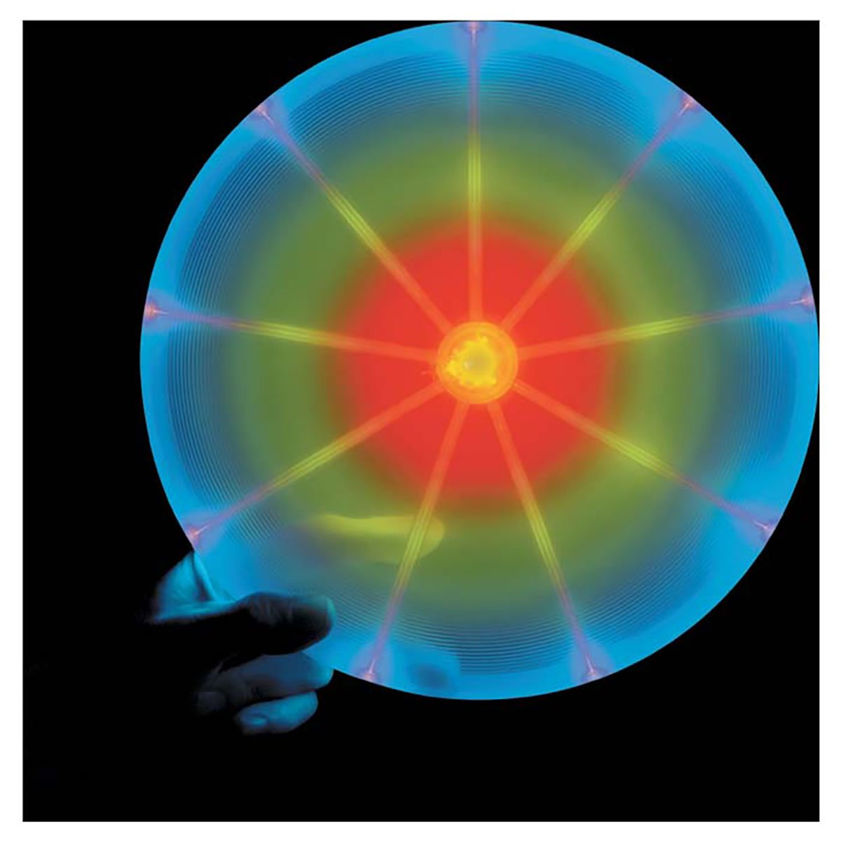 Frisbee LED Luminoso Nite Ize Multicolor-2 27cm 180 gramos