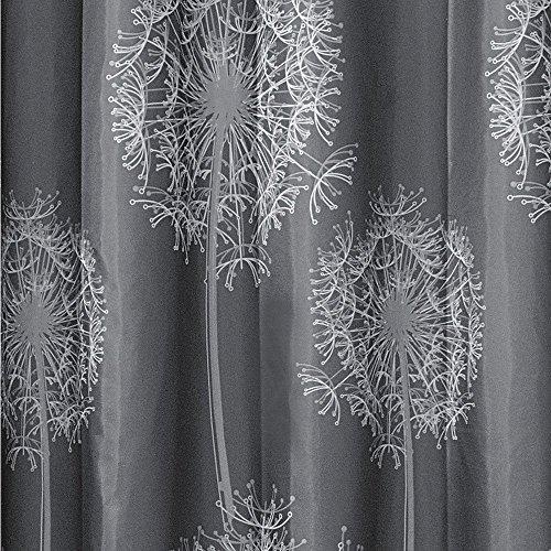 interdesign dandelion fabric shower curtain 72 x 72