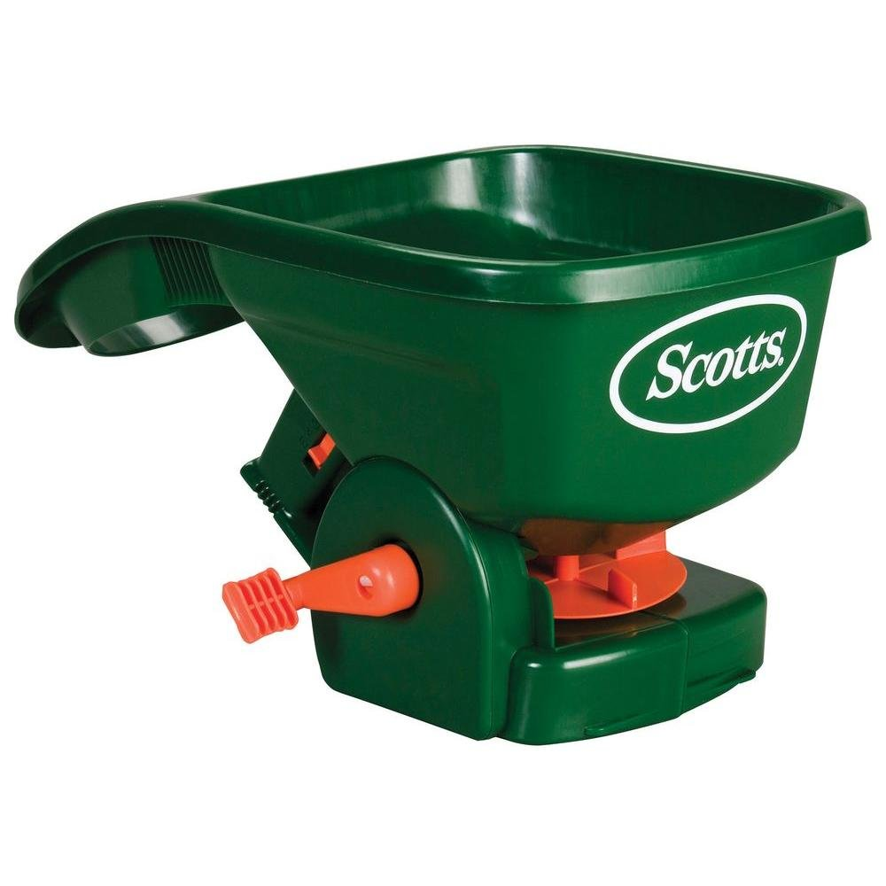 Scotts Handy Green II 2 lb. 1,500 sq. ft. Hand-Held Broadcast Spreader by Scotts