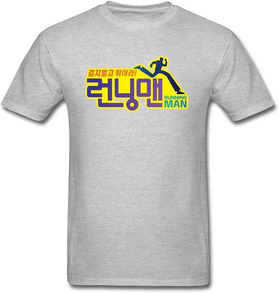 Judian Running Man Korean Logo T Shirt For Men Amazon Ca Books