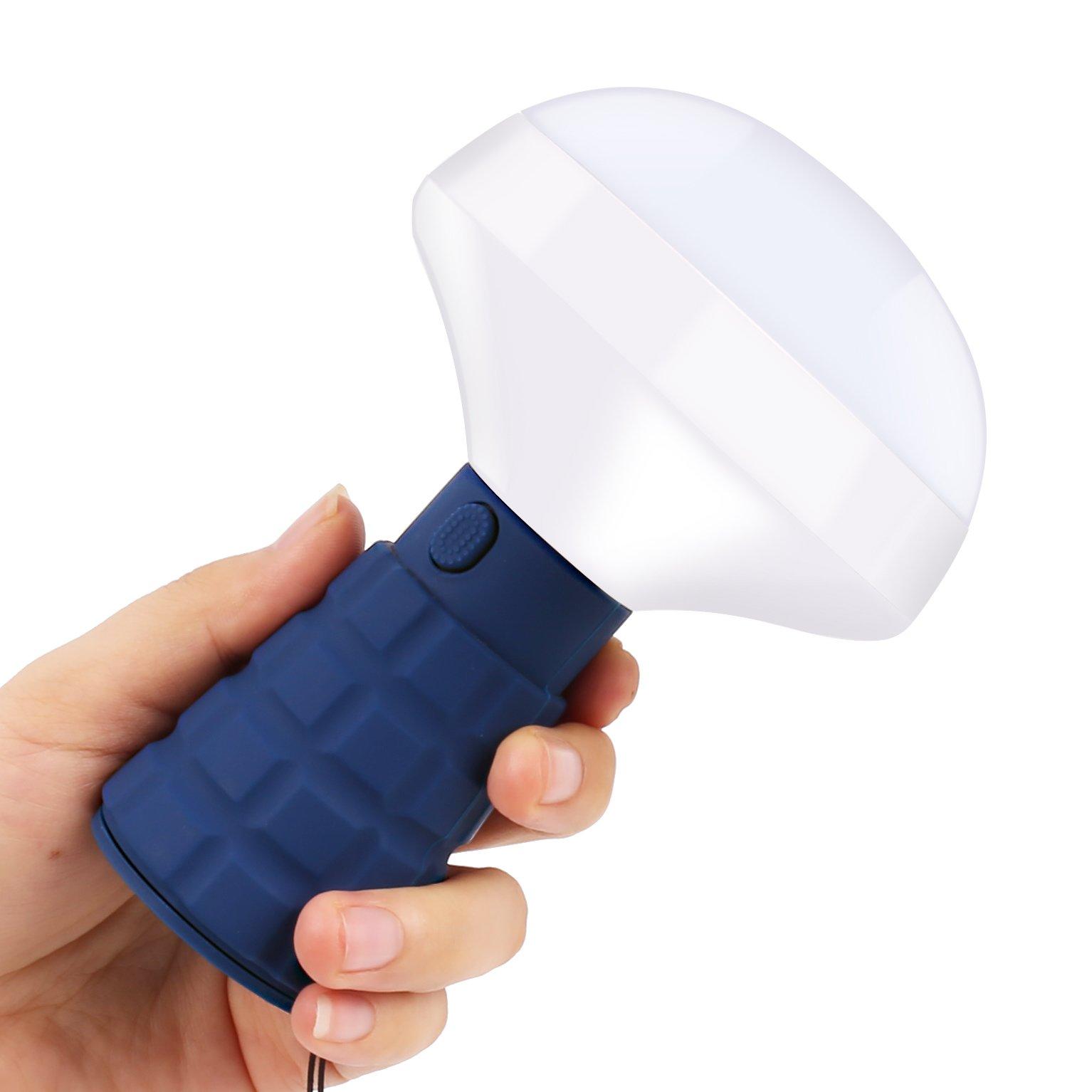 LED Flashlight, Magnetic Energy-Saving Flashlight, Ultra Bright Portable LED Lamp SOS Strobe Light, Children's Room, Camping, Hiking, Biking